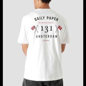 Daily Paper Amsterdam Store T-Shirt White